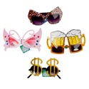 Party Glasses Bulk  60 Pcs 20 Asstd Styles