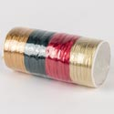 Ribbon Wraphia Craft 60ft Assorted Colors Christmas *3.00*