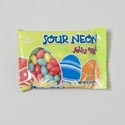 Easter Candy Sunrise Sour Neon Jelly Eggs 8oz Laydown Bag Pdq