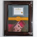 Photo Frame Executive 8.5x11 Burgundy Finish