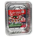 Aluminum Roasters/baking Pans Holiday Layers 60ct Disp. W/lids 32 Roasters 28 Baking Pans