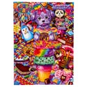 Coloring Book Lisa Frank Jumbo 96 Pages